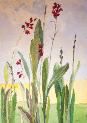 Kwiaty - obraz olejny