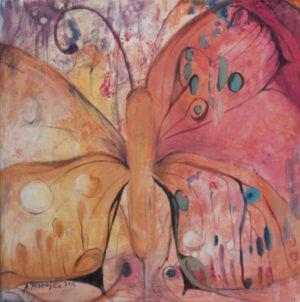 Motyle III - obraz olejny